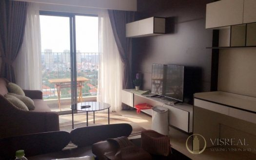 Brand-new 2-bedrooms apartment in Masteri Thao Dien, nice design, 800$.