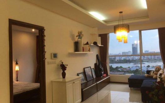 City View, 2 Bedrooms, Small balcony, $1150, Thao Dien Pearl