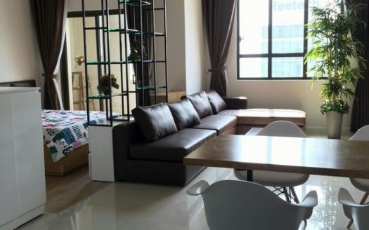Big Studio, Sunny with full furniture, $850 in ICON56 Apartment, District 4