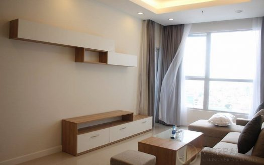 Prince Residence apartment for lease, 2 bedrooms, balcony in the bedroom