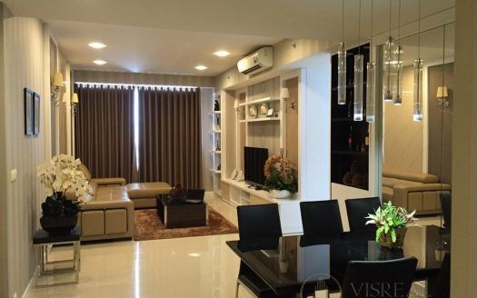 Modern & Cool 3BR apartment for rent in Sunrise City, fully furnished, good designer