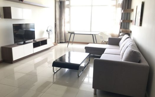 Big Apartment on high floor, River view, 3 BRs, Saigon Pearl project