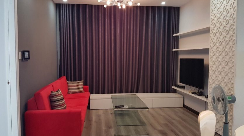 Nice apartment with 2 bedrooms, new furniture, Sunrise City, D7