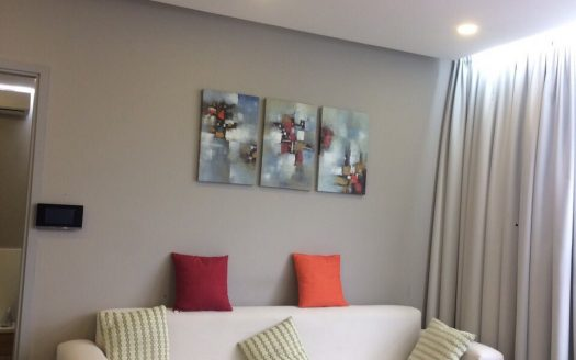 So Cute Apartment with 2 bedrooms, Beautiful furniture, Sunrise City, District 7