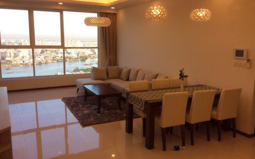 Apartment with 3 bedrooms, 145 sqm, high floor and city view, Thao Dien Pearl