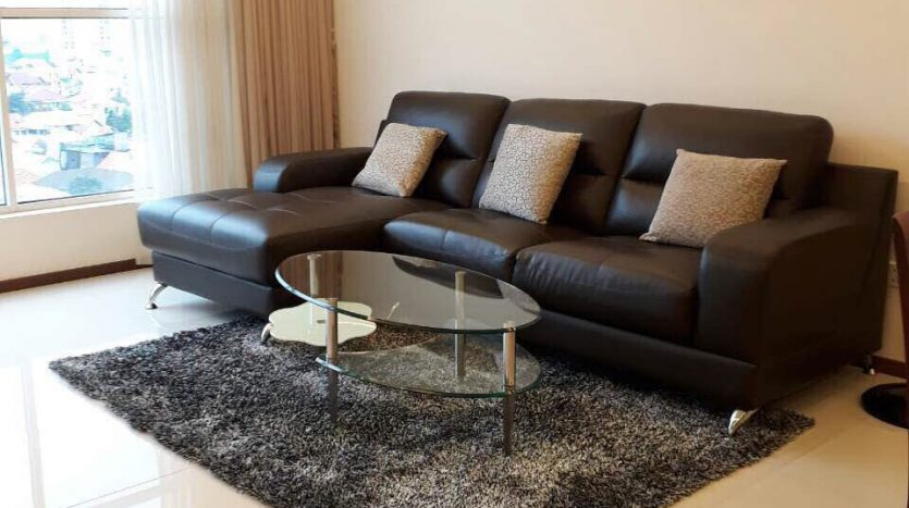 Thao Dien Pearl Apartment for rent with full furniture, 3 bedrooms, spacious