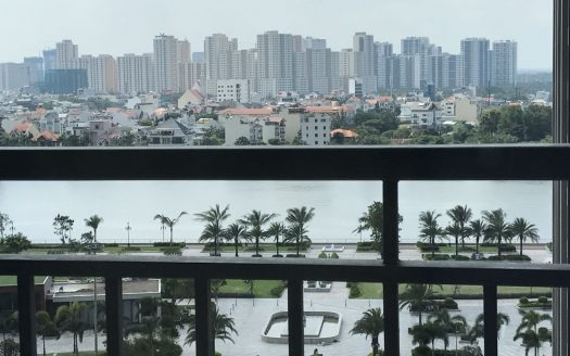No furniture, 140 sqm, 4 bedrooms, Balcony in the living room, Vinhomes Central Park