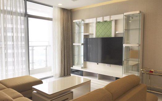 Vinhomes Central Park - 3Brs Apartment For Rent, High Floor, Smart Design
