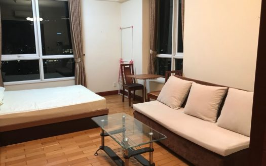 Manor building - Apartment for rent in high floor, studio with 1 bedroom, wood furniture very luxury only $550