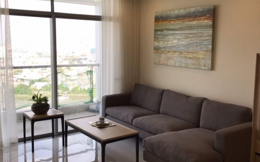 Vinhomes Central Park - Apartment for rent in Binh Thanh District with 3 bedrooms, nice view, natural wind and sunshine