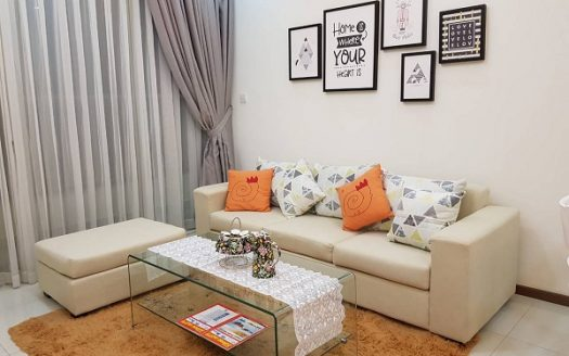 Apartment at Thao Dien Pearl with 2BRs, Relaxing Decorations & River View