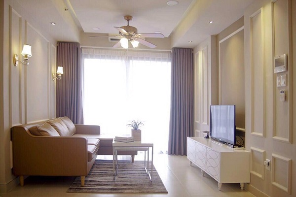 Masteri Thao Dien - Luxury Interior Design, Full Facilities, 2Brs, 1200USD