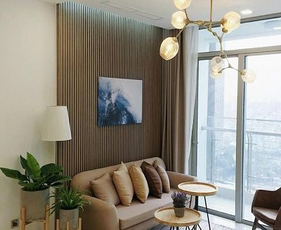Vinhomes Central Park- Apartment With 2Brs, Lovely Design, 80sqm.