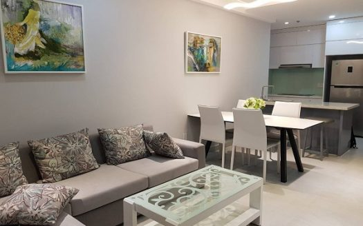 RiverGate Residence - Apartment For Rent with 2Brs, Full Furniture, 1100USD
