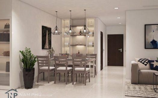 Vinhomes Central Park-Excellent Interior Design, Full of utilities, 3Brs, 1400USD