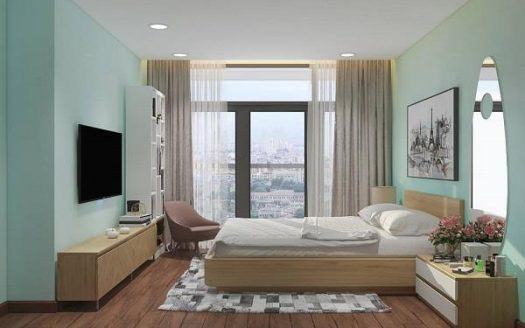 Vinhomes Central Park- Apartment with Modern style, 80sqm, Park 2 Tower, 2Brs.