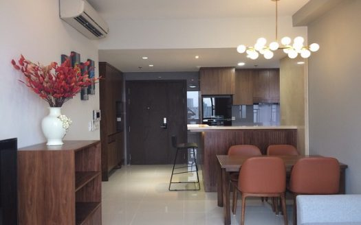 RiverGate Residence - Wooden Furniture, Modern, 74sqm, 2Beds, 1250USD.