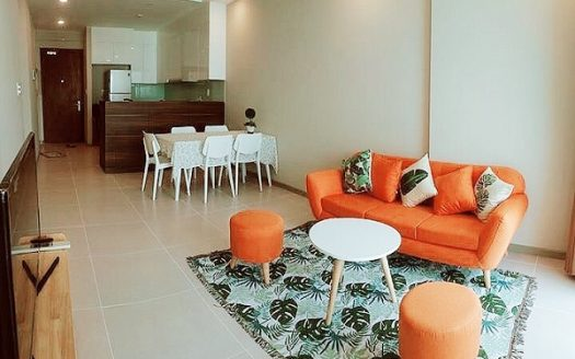 Gold View Project - Simple Design, Modern & Full Furniture, 80sqm, 2beds.