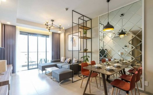 Gold View Project - Gorgeous Decor, Nice Interior, 80sqm, 2beds, 1100USD.