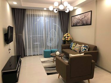 Gold View Project - Designed in a modern style, Full Furniture, 92sqm, 2Brs.