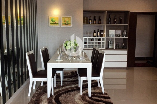 Sample apartment for rent in The Tresor