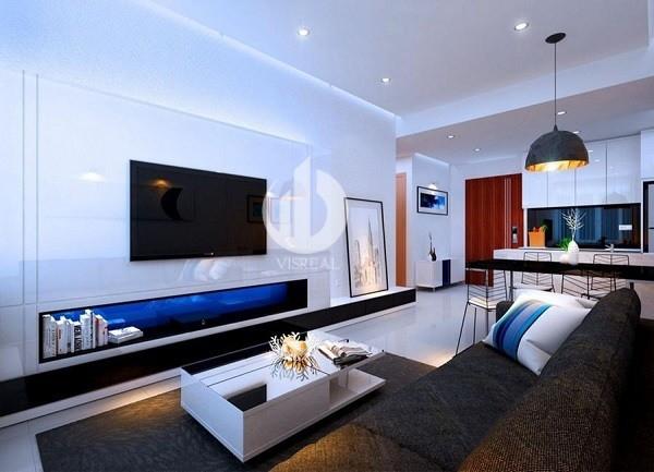 Sample apartment in Rivergate apartment