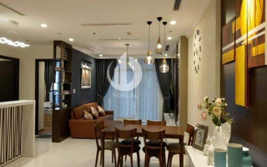 Vinhomes Central Park- Luxury furnished, Modern,118 sqm, 03Brsin L1 Tower, High Floor.