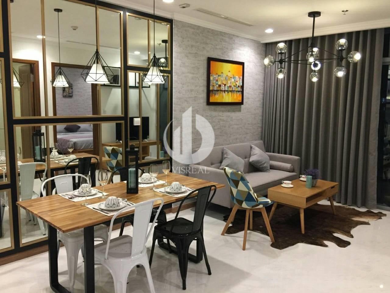 Cutaway Apartment Full Furnitures Modern Design: 1 Bedroom, Full New Ft High