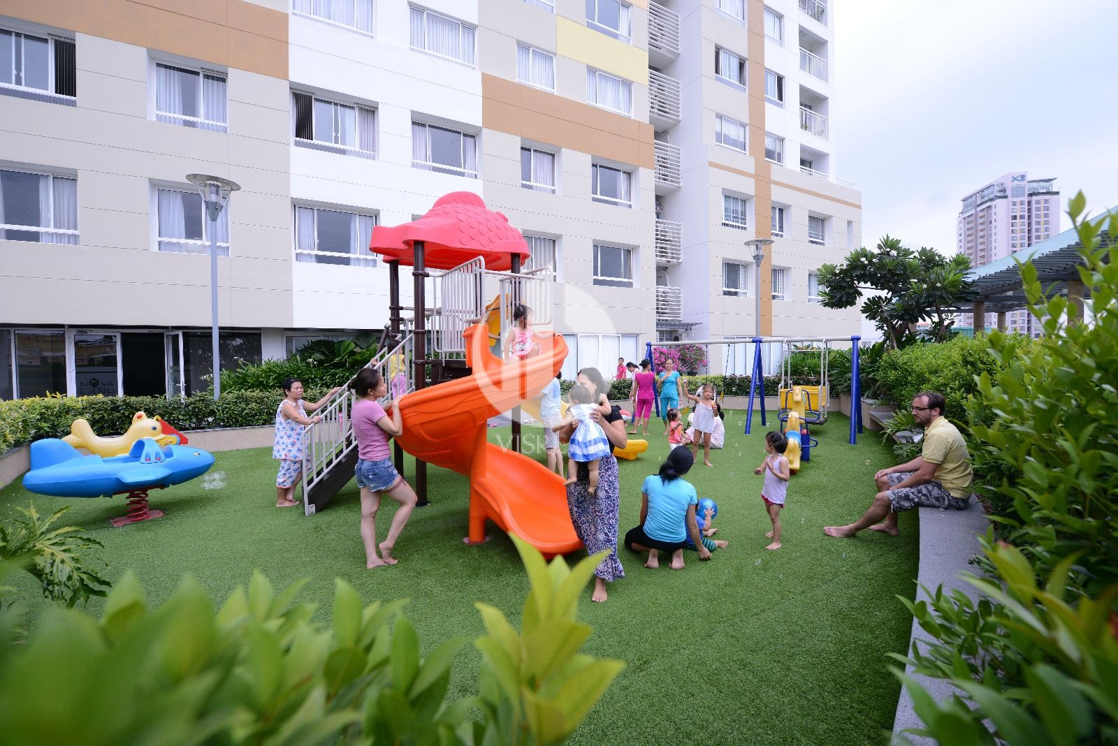 Kids' Kingdom of Tropic Garden Apartment is a place for your children's development. Your beloved babies can freely and wirelessly run around Tropic Garden Thao Dien Apartment for funning activity and scenic entertainment.
