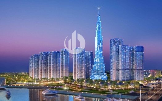 Landmark 81 - The tallest building in Vietnam at Vinhomes Central Park Apartment