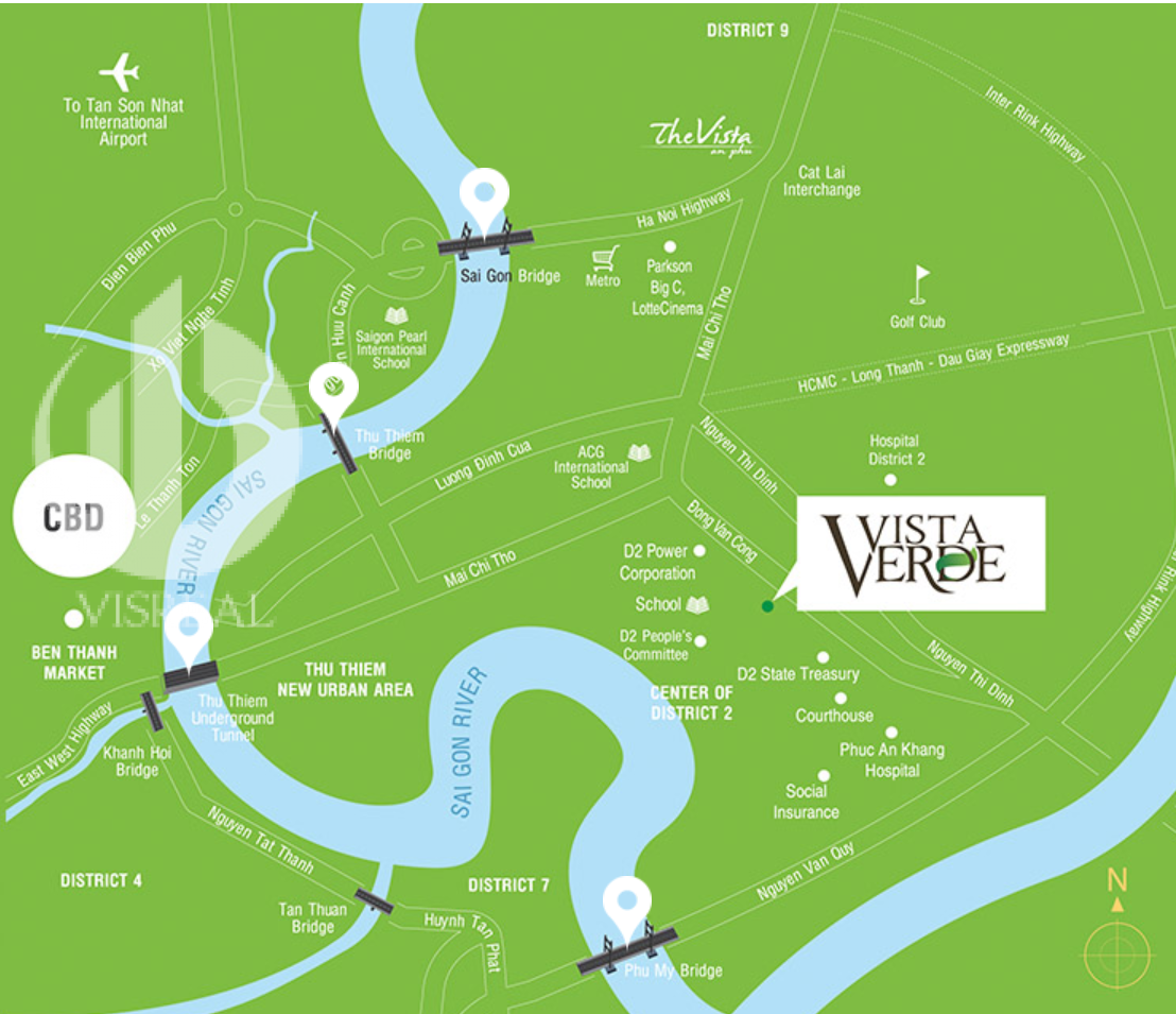 vista verde apartment location