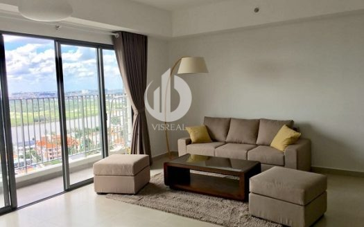 Masteri Thao Dien Apartment for Rent - Cozy & Romantic Space, 3BRs, 90sqm