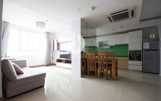 Masteri Thao Dien Apartment - Woody design and full furniture, 2BRs, 70sqm