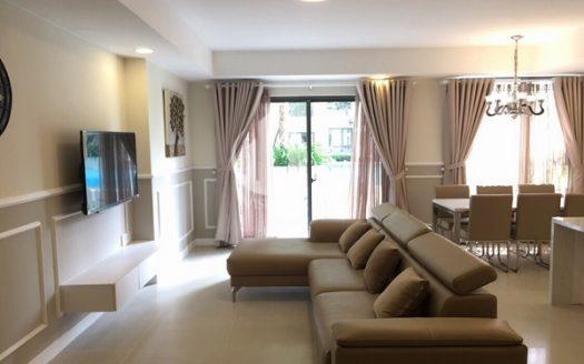 Masteri Thao Dien Apartment - Duplex Apartment for rent, with a private garden, premium view.