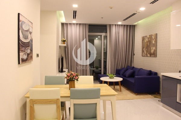 Vinhomes Central Park Apartment – A completely peaceful place in parallel with the modern life in Saigon.