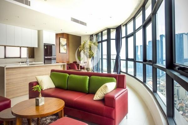 City Garden Apartment -Spacious, Luxury & Nice View.