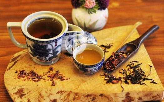 Escape from the stresses of life with the Oriental style tea shops in Saigon.
