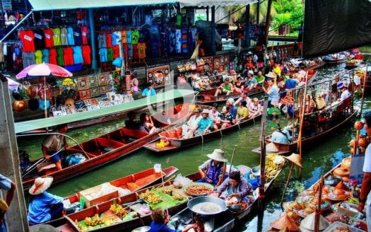 Floating market Cai Rang