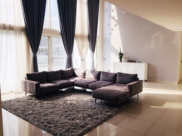 Beautifully designed apartment at Estella Apartment, Spacious, 252sqm.