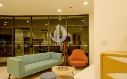 City Garden Apartment –The apartment is designed spacious and modern style.