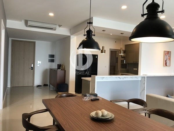 Apartment with modern features, nice view at Estella Heights Apartment