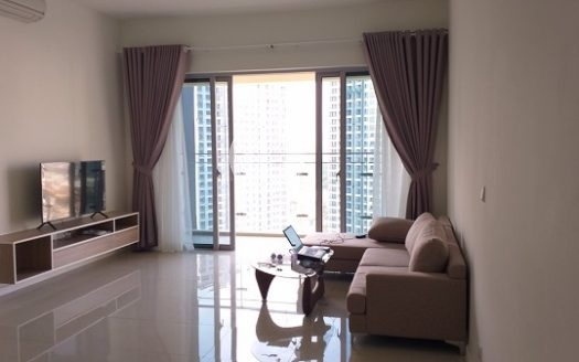 The apartment is located in Estella Height apartment, which is designed with class style.