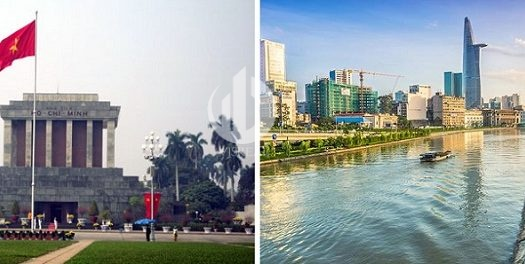 Differences Between Hanoi And Ho Chi Minh City