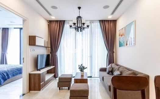Vinhomes Golden River Apartment – Luxury interior design two bedrooms, River View.