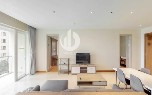 Diamond Island Apartment – Living in a modern apartment, airy space.