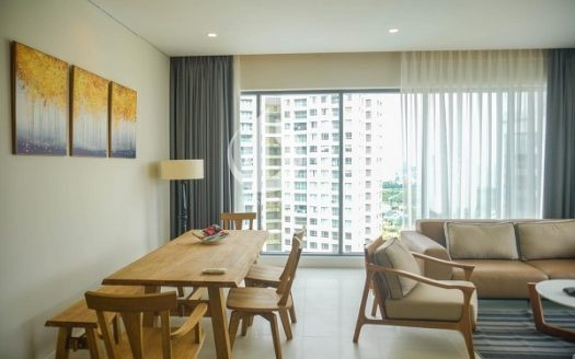 Diamond Island Apartment –Cool interior view, 3 bedrooms, high floor