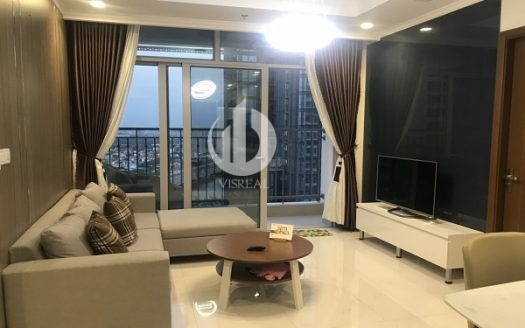 Vinhomes Central Park Apartment – Modern living area, 2 bedrooms with nice view.