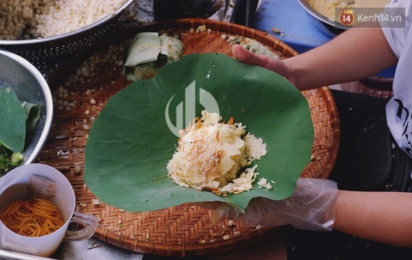There is a Vietnamese culinary aspect embraced by pure lotus flowers.