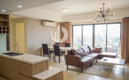 MasteriThao Dien Apartment-3 bedrooms in T5 tower, high floor with city view.