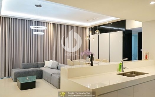 Gateway Thao Dien Apartments - Spacious apartment in the heart of the bustling city.